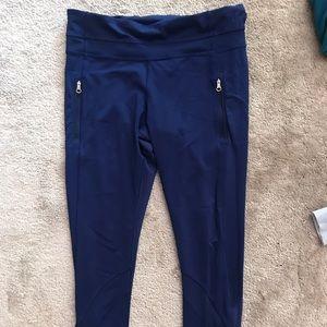 Lululemon Running Leggings! Blue